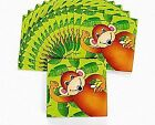 16 Small Zoo Animal Paper Party Napkins  Paper Party Napkins