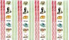 NRN Designs WEDDING Border Doves Rings Flowers Scrapbook Stickers 4 Sheets