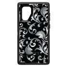 OtterBox Defender for Galaxy Note 5 8 Silver Black White Floral
