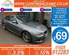 2011 BMW 320D 20 TD M SPORT GOOD BAD CREDIT CAR FINANCE FROM 69 P WK