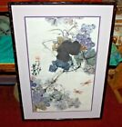 Quality Chinese Brush Painting-Flowers Trees Dragonflies-Signed Stamped