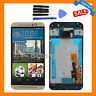 For HTC One M9 Gold LCD Display Touch Screen Digitizer Replacemen Frame Assembly