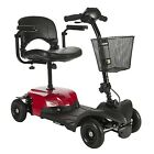 Drive Medical BobcatX4 Compact 4 Wheeled Transportable Electric Mobility Scooter