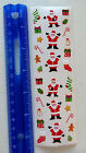 Mrs Grossman SANTA AND THINGS Strip of RETIRED Mini Santa Stickers