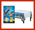 POKEMON 1 Pikachu  Friends Plastic Table Cover Birthday Party Decoration