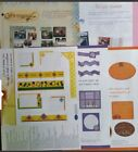 CREATIVE MEMORIES Crop Talk Instruction Sheets Hard to Find 5 Various Sheets