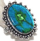 E28578 Excellent # FREE SHIPPING DICHROIC GLASS RING US 6