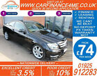 2015 MERCEDES C250 CDI AMG SPORT EDT GOOD BAD CREDIT CAR FINANCE FROM 74 P WK