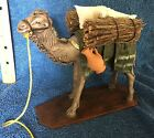 Puig Nativity Standing Camel with Pack Spain Terra Cotta