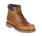 CATERPILLAR P720263 COLORADO Mns M Golden Leather Work Boots
