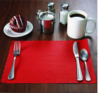 MH Paper Flat Placemats with Scalloped Edge 10x14 Disposable Ships Free