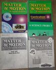 A Beka Matter  Motion 8th Grade Science Set with bonus A Science Project book