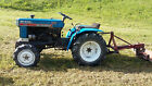 Mitsubishi MT372D Diesel 4 Wheel Drive Subcompact Tractor with 3 point hitch