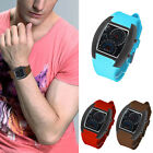 2019 Fashion Aviation Turbo Dial Flash LED Watch Gift Mens Lady Sports Car Meter