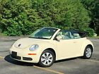 2008 Volkswagen Beetle Classic S Convertible 2 Door 2008 Volkswagen Beetle S Convertible 2 Dr 25L ONE OWNER CLEAN CARFAX NO RESERVE