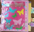 Premade Scrapbook Page Paper Bag Scrapbook Basic Start Up For You To Decorate