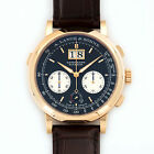 A. Lange & Sohne Rose Gold Datograph Up Down Watch Ref. 405.031