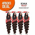 MULTI PACK HARLEM125 SYNTHETIC CROCHET HAIR KIMA BRAID OCEAN WAVE 20