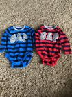 Lot Of 2 Baby Gap Kids Toddler One Piece Size 12 18 Months Long Sleeve