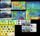 Olym BRAZIL 2015 2016 COMPLETE KIT OF OLYMPIC AND PARALYMPIC GAMES RIO 2016MNH