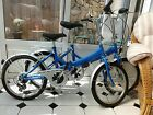 2 FOLDING BIKES made by RALEIGH  rrp 400
