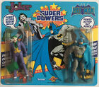 Super Powers Double Carded Custom Mint Batman  Joker MOC  comic card Limited