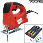VOCHE® 400W ELECTRIC PENDULUM CUT JIGSAW VARIABLE SPEED JIG SAW + 16 x BLADES