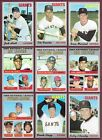 1970 Topps San Francisco Giants Complete Team Set Mays McCovey Marichal EX (34)