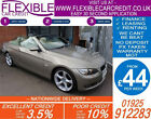 2008 BMW 325i 30 SE CONVERTIBLE GOOD BAD CREDIT CAR FINANCE FROM 44 P WK