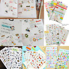 Portable Calendar Scrapbook Album Diary Book Decor Paper Planner Sticker Craft