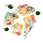DIY Retro Paper London Travel Stamp Stickers for Decoration Diary Scrapbooking w