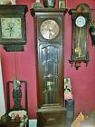 Fine quality beveled glass German grandfather clock