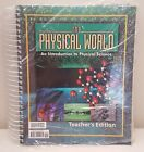 Bob Jones Teachers Edition Book BJU Spiralbound Physical World Science 9th Grade