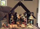 10 Piece Nativity Set Plus Creche