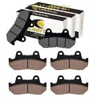 Front And Rear Brake Pads for Honda CB900C 1982 / CB900F Super Sport 1981-1982