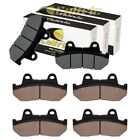 Front And Rear Brake Pads for Honda GL1100 GL1100A GL1100I Gold Wing 1100 82-83