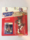 1988 Starting Lineup Figure Michael Cage Sonics Basketball Sealed Pack