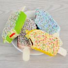 Squishy Sprinkles Popsicle Phone Straps Soft Bread Scented Key Chain Kids Gift