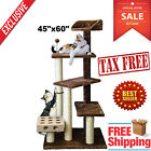 Cat Tree For Large Cats Pet House Climbing Furniture Scratching Kitty Tower Bed