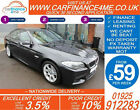 2012 BMW 520D 20 TD M SPORT GOOD BAD CREDIT CAR FINANCE FROM 59 P WK