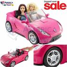 Barbie Glam Convertible Pink Car Doll Mattel Vehicle Hot New And Toy Seats