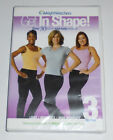 Weight Watchers DVD Get in Shape 3 on One Light Moderate Intense Exercise NEW