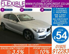 2013 BMW 120D 20 M SPORT GOOD BAD CREDIT CAR FINANCE FROM 54 P WK