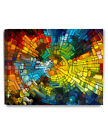Abstract Wall Art Stained Glass Pattern Giclee Prints Modern Artwork Decorarts