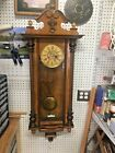 Large Spring Driven Vienna Regulator Clock N R