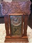 Antique 1880s E Ingraham Gingerbread Mantle Clock