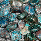 Blue Apatite Tumble Polished Crystal Stone 1 pc Sizes 075 to 11 Inch TS900