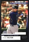 Todd Helton Cards, Rookie Card and Autographed Memorabilia Guide 14
