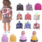 Cute Schoolbag Backpack Accessories for 18'' Amrican Girl Doll Xmas Gifts