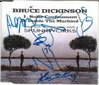 BRUCE DICKINSON Solar Confinement, FULLY SIGNED Iron Maiden Skunkworks AUTOGRAPH